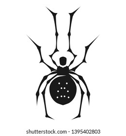 Phobia spider icon. Simple illustration of phobia spider icon for web design isolated on white background