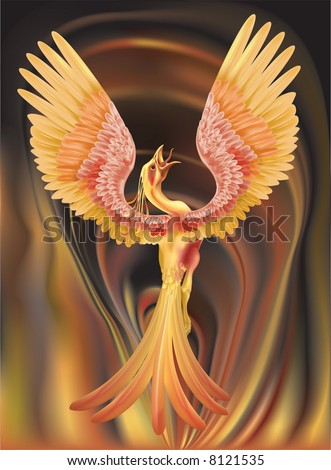 Phoenix Rising Ashes Stock Illustration 8121535 Shutterstock