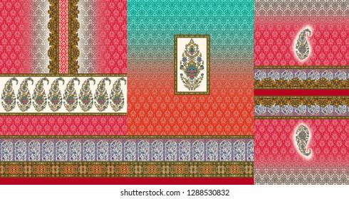 Photo Flower Kurti Colour Pattern Image Digital Colourful Graphics Cute - Illustration