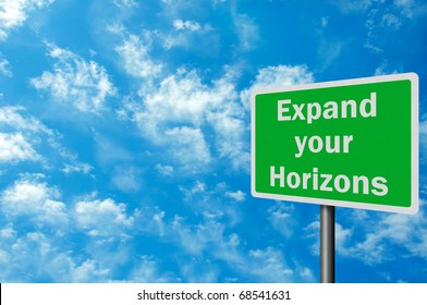 What does it mean to broaden your horizons