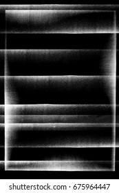 Photocopy texture lines on black background