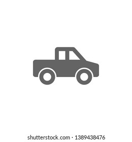 pickup  icon. Element of simple transport icon. Premium quality graphic design icon. Signs and symbols collection icon for websites