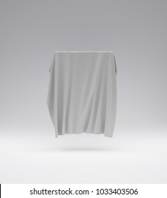 the picture is covered with a cloth 3d model