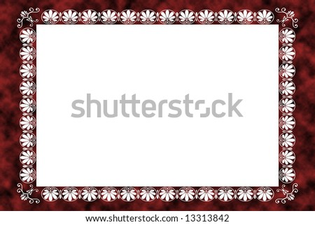 Picture Frame Created Photoshop Has Two Stock Illustration 13313842