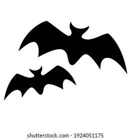 Picture of two bats that match helowen's scary day