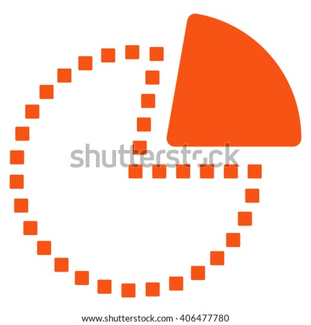 Royalty Free Stock Illustration Of Pie Chart Glyph Toolbar Icon