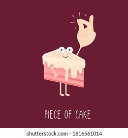 piece of cake easy idiom