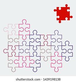 Puzzle Piece Images, Stock Photos & Vectors | Shutterstock