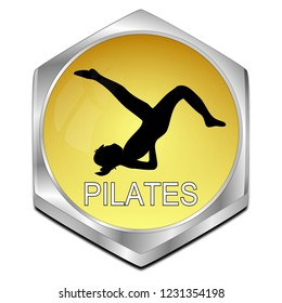 Pilates button
