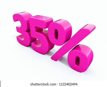 Pink 35% Percent Discount Sign, Sale Up to 35%, 35% Sale, Special Offer, Money Smarts Sticker,  Save On 35% Icon, % Off Tag, Budget-Friendly, Cost-Cutting Tricks, Low-Cost, Low-Priced, Reduce Cost