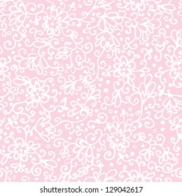 Pink abstract floral texture seamless pattern background raster