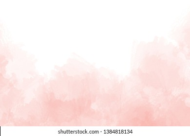 Pink abstract watercolor background texture