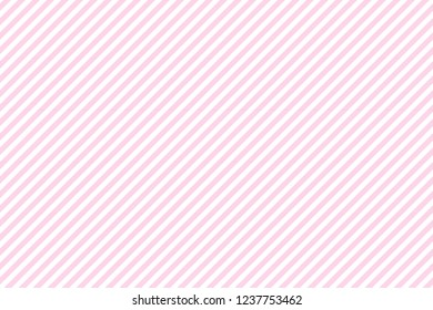 Pink baby color striped fabric texture seamless pattern.
