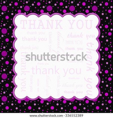pink black polka dot border templates
