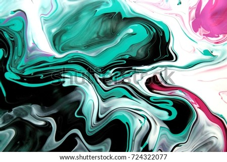 pink black white green color mix stock illustration 724322077