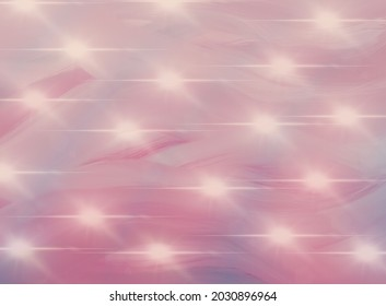 Pink blue background with a field of lights.