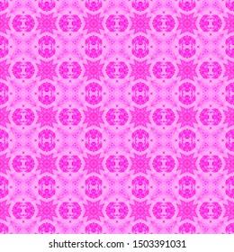 Pink checked allover seamless pattern. Hand drawn watercolor ornament. Brilliant repeating design. Fabulous fabric cloth, swimwear design, wallpaper wrapping.