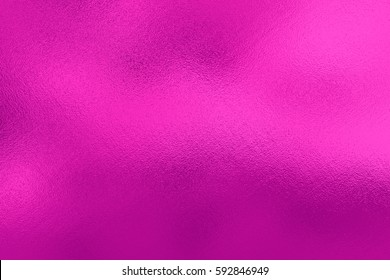 Pink foil background, metal texture
