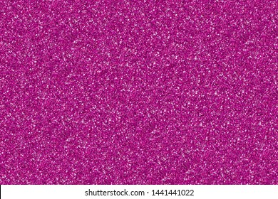 Pink glitter Background. Background filled with shiny glitter. Glitter and Christmas abstract background.