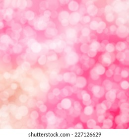 pink and light orange hombre bokeh background texture bubbles sparkly girly blurry