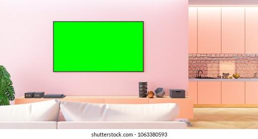 Pink Tv Images, Stock Photos & Vectors | Shutterstock