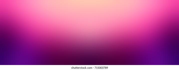 Pink Northern lights banner. Purple Aurora abstract blurred background. Luxurious rich colorful texture. Festive chic. Polar lights banner. Orange, pink, violet iridescent gradient.