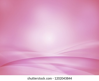 Pink soft wavy abstract background.