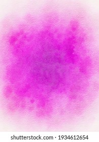 Pink wash watercolor background image for graphic design, watercolor background, digital art, design, pattern