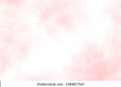 Pink  watercolor abstract background texture