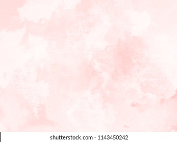 Pink watercolor background texture - soft abstract aquarel pattern