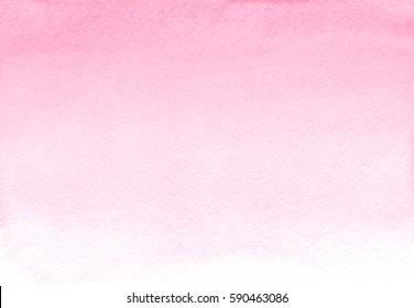Pink watercolor gradient background