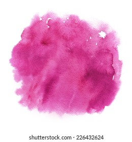 Pink watercolor texture with smudges.