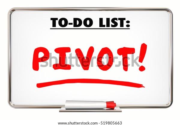 Pivot significado empresarial