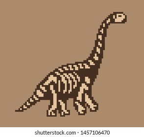 Pixel Dinosaur Images Stock Photos Vectors Shutterstock