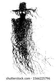 Pixel art illustration depicts a warlock