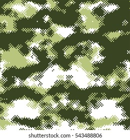 pixel halftone theme background army camouflage art camo