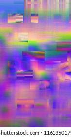 Pixel Sorting Glitch Texture