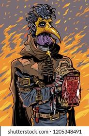 plague sad doctor