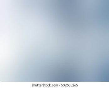 Plain cloudy winter blurred background. Blue gray smoky abstract texture.