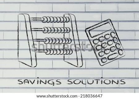 plan your savings establish budget funny stock illustration
