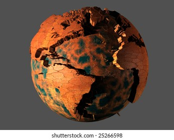 planet with dry oceans