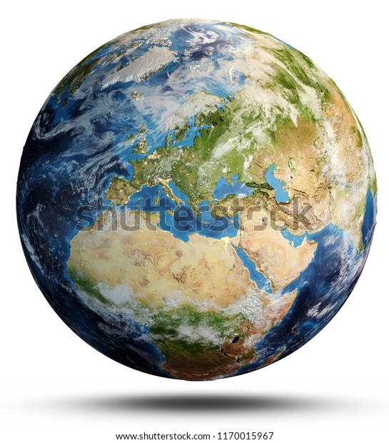 Planeetta Maan Kartta Taman Kuvan Elementit Arkistokuvitus 1170015967