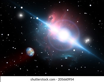 The planet orbits the pulsar In the danger zone
