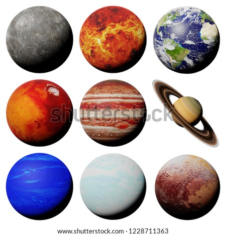 the planets of the