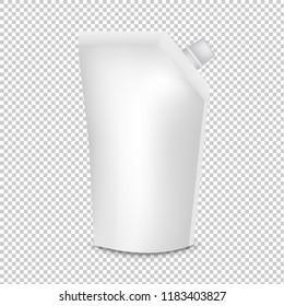Plastic Pouch With Batcher Transparent Background