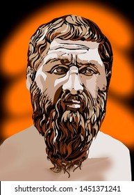 Plato - ancient Greek philosopher, student of Socrates, teacher of Aristotle. Plato is the first philosopher, whose writings are not preserved in brief passages cited by others, but in full