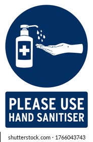 please use hand sanitiser poster. Poster for covid19 in english language.