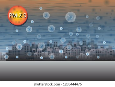 PM2.5 dust is dust that has a small region of more than 0.3 microns. And it has a direct danger to the internal organs Causing the risk of cancer, heart disease, lung disease and many other diseases.