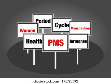 PMS signs women's health