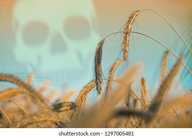 Poisons in agriculture, illustration